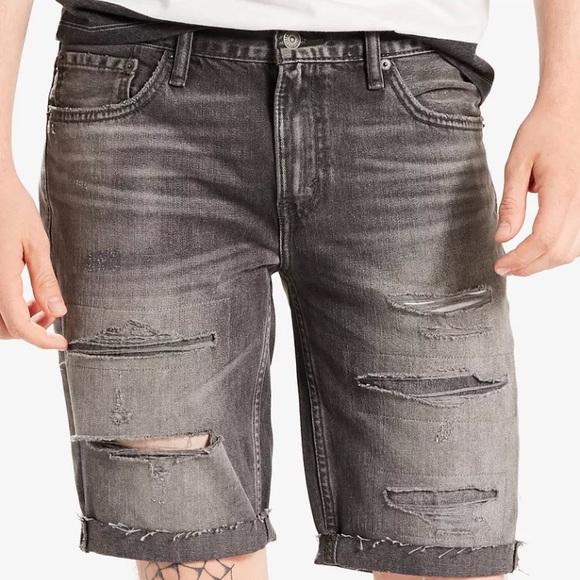 9897be8c Levi's Shorts | Nwt Levis 511 Slimfit Cutoff Ripped Jean | Poshmark